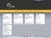 EHB Pro - Solutions hébergement web et infogérance