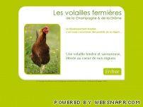 Les volailles fermières de la Drome et Champagne