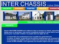Fabricant de châssis PVC - Inter Chassis, vos chassis en pvc