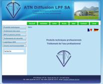 Produits techniques professionnels, traitement de l'eau - ATN Diffusion LPF SA