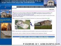 Entreprise de maçonnerie rénovation du patrimoine